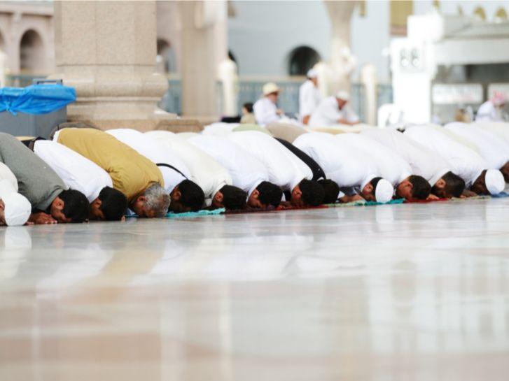 عدد المصلين في صلاة العيد