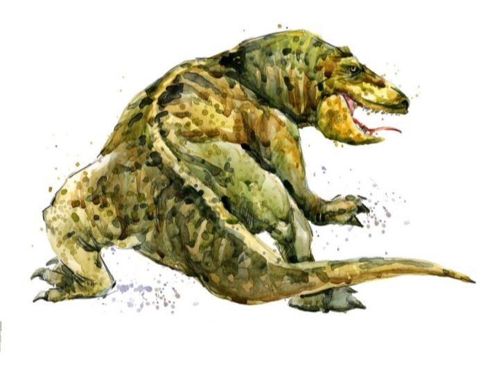 ما هو تمساح عصر الديناصورات؟