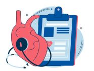 قائمة بأمراض القلب والأوعية الدموية