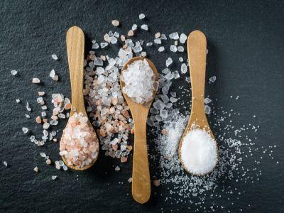 الفرق بين ملح المائدة وملح البحر