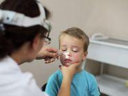 آثار اللحمية على الأطفال