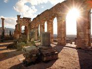 أين تقع الحضارة الرومانية؟