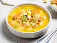غداء للدايت: طريقة عمل الدجاج بالكريما مع العدس صحية ولذيذة