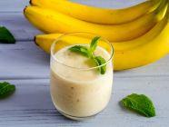 وصفة كوكتيل الموز والحليب لزيادة الوزن