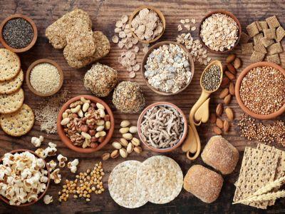 الحبوب الكاملة، مصادرها والكميات الموصى باستهلاكها