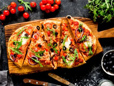 طريقة تحضير بيتزا بالشوفان للدايت