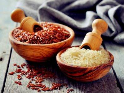 ما هي السعرات الحرارية للأرز بأنواعه