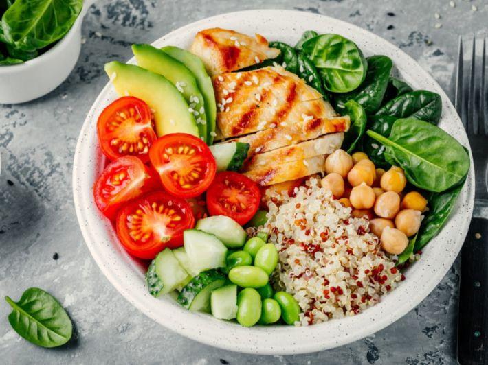 أطعمة قليلة السعرات الحرارية من مختلف المجموعات