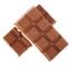 لوح من الشوكولاتة الذائبة.