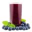 خمسة وسبعون ملليلتراً من عصير التوت الأسود.