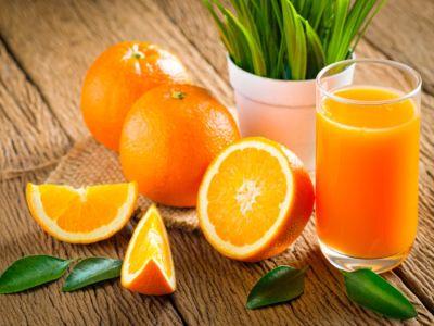 تحضير عصير برتقال مركز، ليوم منعش