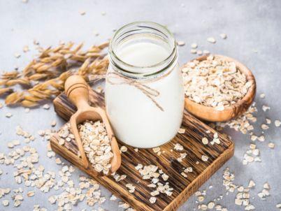 كوكتيل الحليب والشوفان المغذي