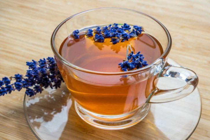 شاي اللافندر المنعش