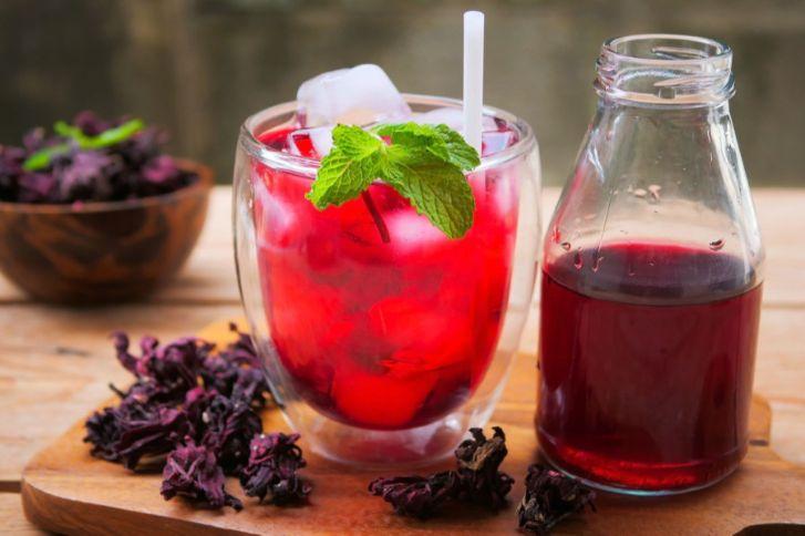 كيفية عمل عصير الكركديه الصحي