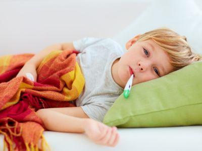 أهم المعلومات عن الحمى عند الأطفال