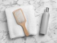 كم مرة يغسل الشعر الجاف؟