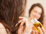 كم يترك الزيت على الشعر؟
