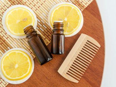 كيفية استخدام الليمون لقشرة الشعر