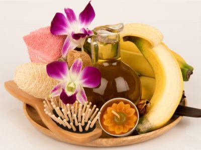 ماسك الموز للشعر الجاف: فوائده وطرق تحضيره