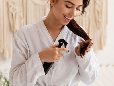 وصفات مجربة لترطيب أطراف الشعر