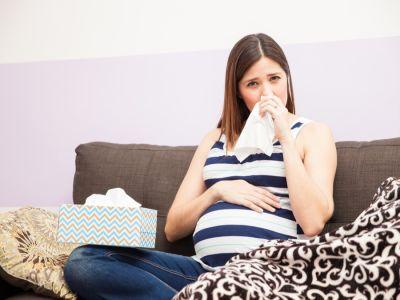 آثار الرشح على الحامل