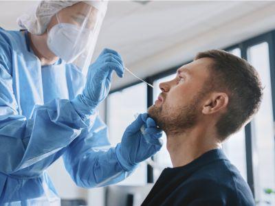 فحص PCR لفيروس كوفيد-19