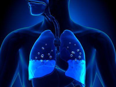 كيفية سحب الماء من الرئة