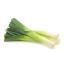 باقة من أوراق البصل الأخضر للزينة.