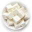 اثنا عشر مثلثًا من الجبن.