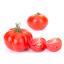 حبة من الطماطم المفروم فرمًا ناعمًا.