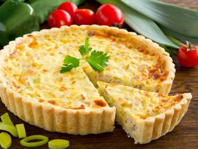 طريقة عمل كيش بجبنة الكممبير