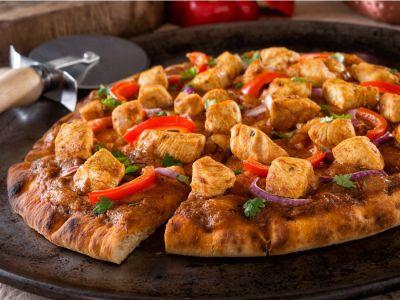كيفية تحضير بيتزا تندوري الدجاج